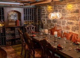 La Bodega private dining room