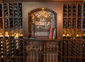 La Bodega private dining room~ wine cellar